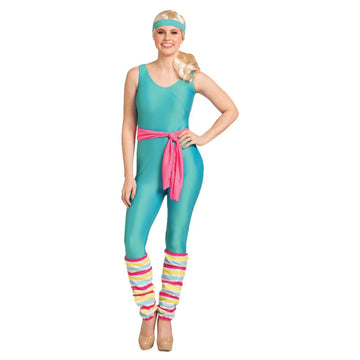 Barbie Great Shape Womens Costume 4-10 - New Costume Womens Costumes