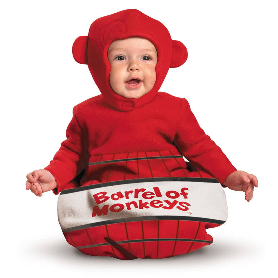 Barrel Of Monkeys Baby Costume 0-6 Mths - Animal & Insect Costume baby boy