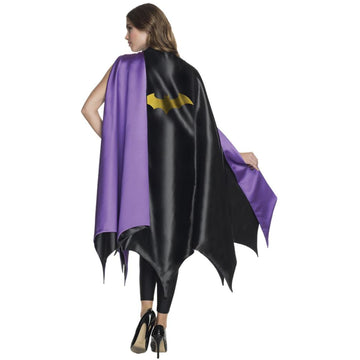 Batgirl Adult Costume Cape - adult halloween costumes Batgirl costume DC Comics