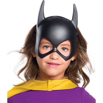 Batgirl Plastic Child Mask - Batgirl costume Batman Costume Costume Masks DC