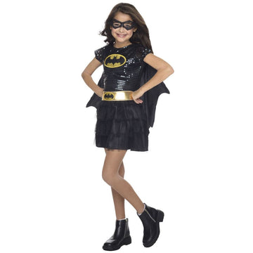 Batgirl Tutu Dress Kids Costume Small 4-6 - Batgirl costume DC Comics Costume