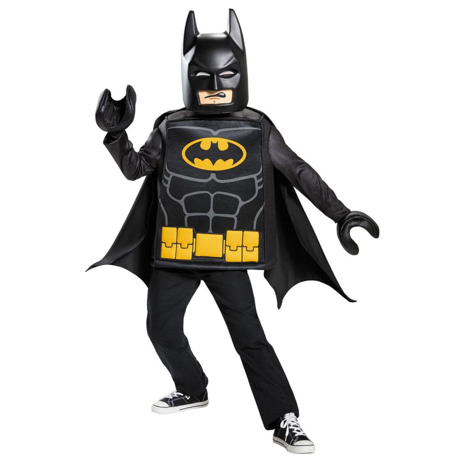 Batman Lego Classic Boys Costume Medium 7-8 - Batman Costume Boys Costumes DC
