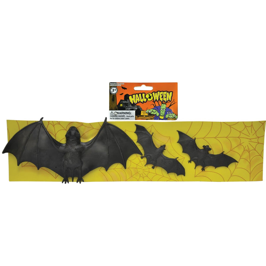 Bats Strip Of 3 - Decorations & Props Halloween costumes haunted house