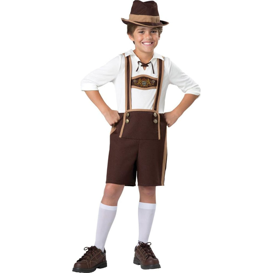 Bavarian Guy Boys Costume Size 8 - Boys Costumes boys Halloween costume
