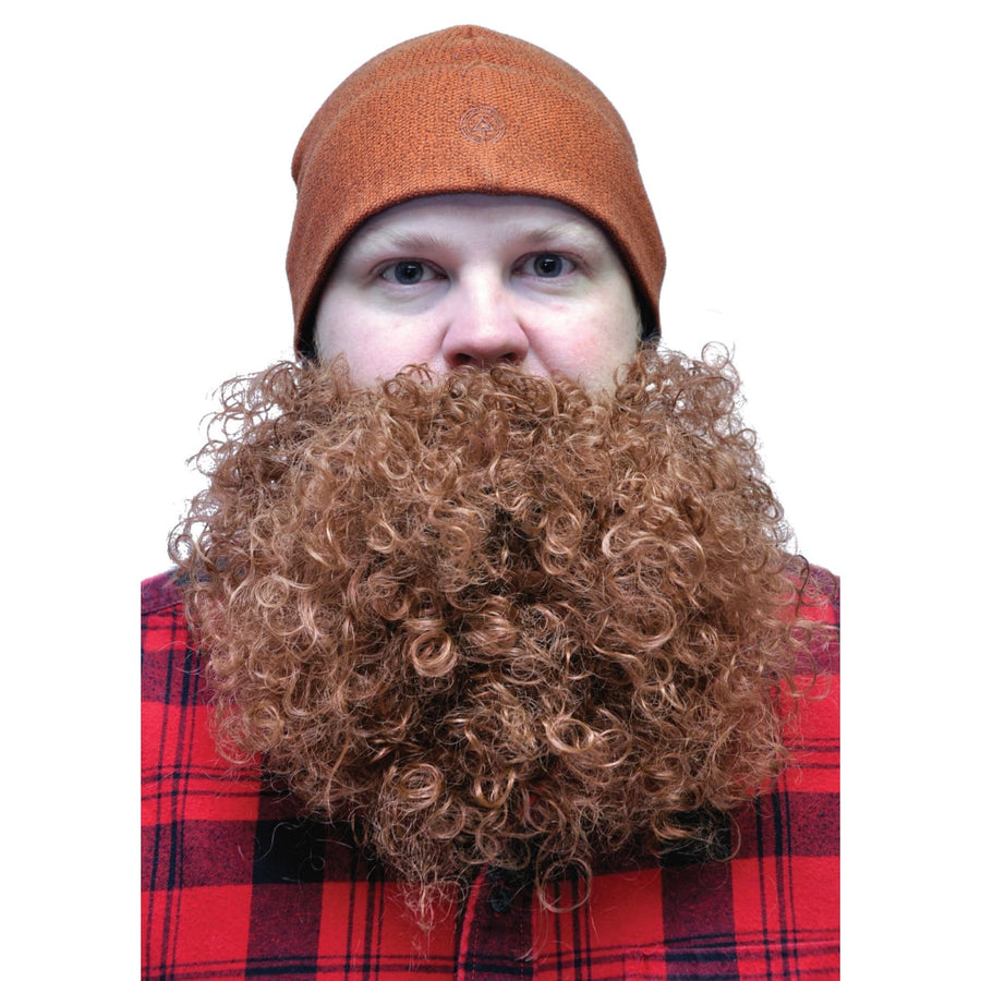 Beard Big And Curly Brown - Beard Big And Curly Brown Halloween costumes