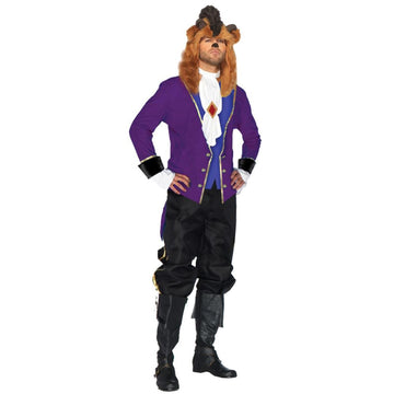 Beast 2 Piece Adult Costume Medium - adult halloween costumes Animal & Insect