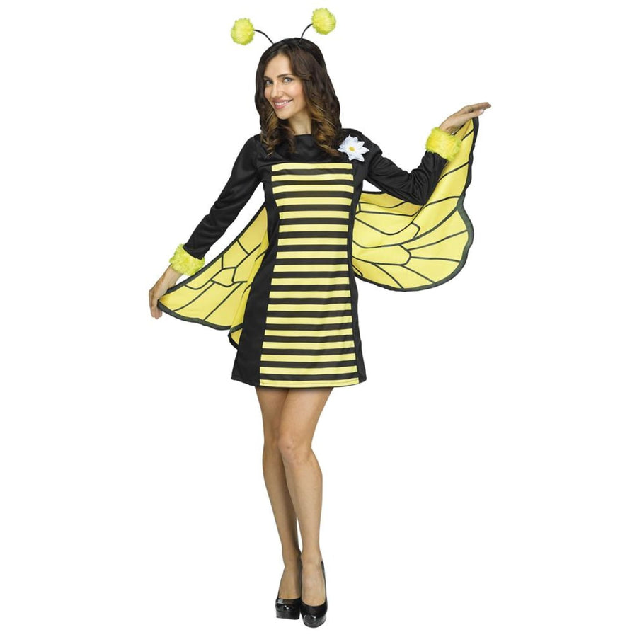 Bee My Honey Adult Costume Medium-Large - adult halloween costumes Animal &