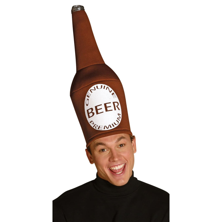 Beer Bottle Hat - Food & Drink Costume funny costume Halloween costumes Hats