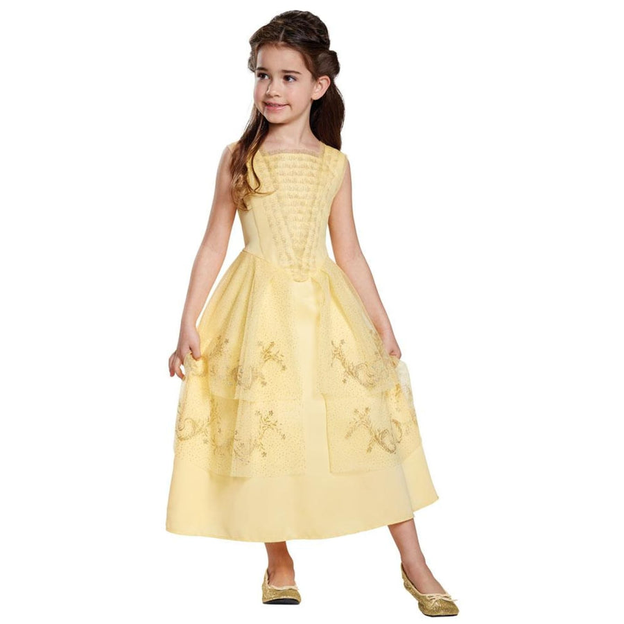 Belle Ball Gown Classic Kids Costume Small 4-6 - Disney Costume Girls Costumes