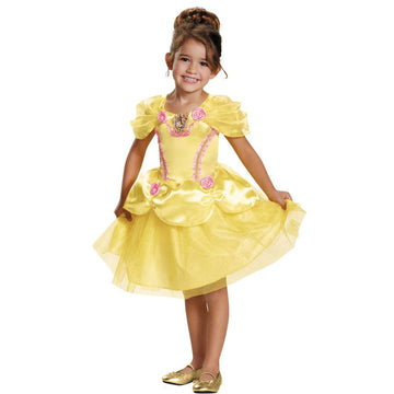 Belle Kids Costume Classic 4-6 - Disney Costume Fairytale Costume Girls Costumes