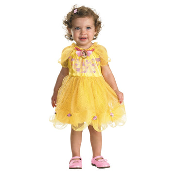 Belle Toddler Costume 12-18 Months - Belle Halloween Costume Disney Costume