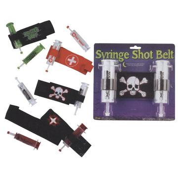 Belt And Syringe Reaper - Doctor & Nurse Costume Ghoul Skeleton & Zombie Costume