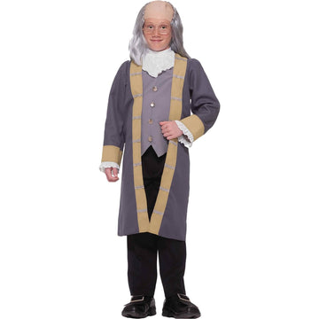 Ben Franklin Boys Costume 8-10 - Boys Costumes boys Halloween costume Halloween