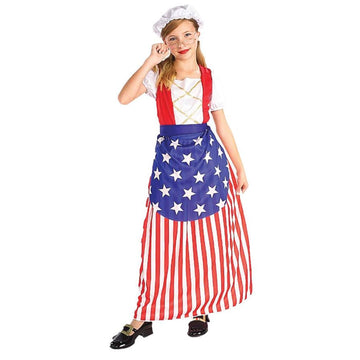 Betsy Ross Child Costume Md 8-10 - Betsy Halloween Costume Girls Costumes girls