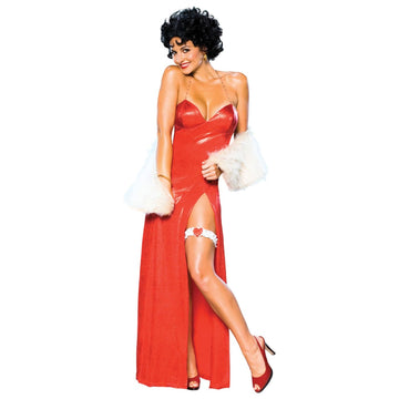 Betty Boop Dlx Starlet Small - adult halloween costumes Betty Boop Costume