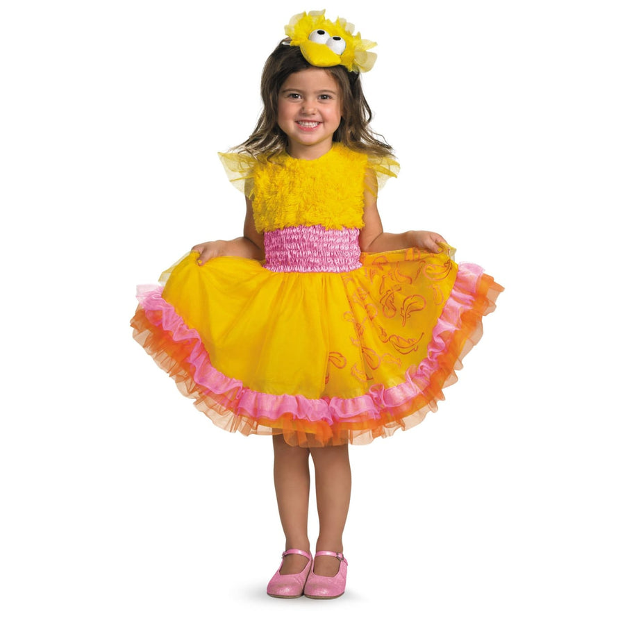 Big Bird Frilly Toddler Costume 2T - Animal & Insect Costume Big Halloween
