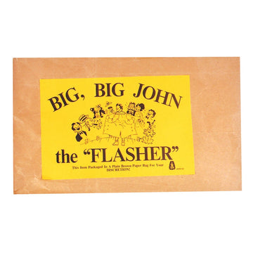 Big Big John The Flasher - adult halloween costumes Funny Costume funny