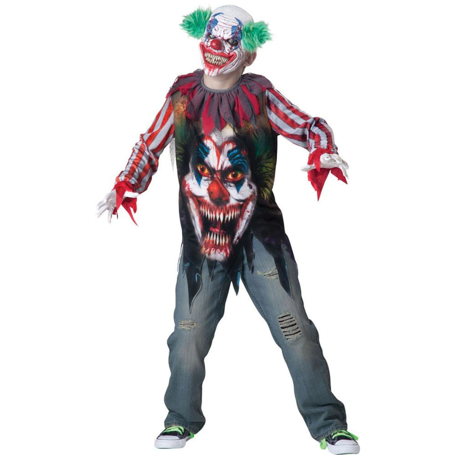Big Top Terror Boys Costume XSmall 6 - Boys Costumes Clown & Mime Costume clown
