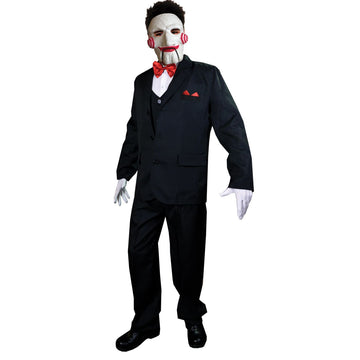 Billy Adult SAW Costume - adult halloween costumes halloween costumes Mens
