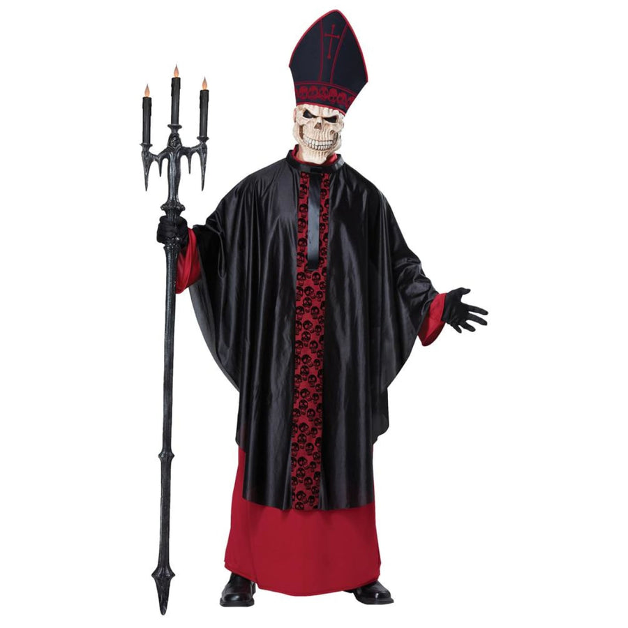Black Mass Adult Costume Large-Xlarge - adult halloween costumes halloween