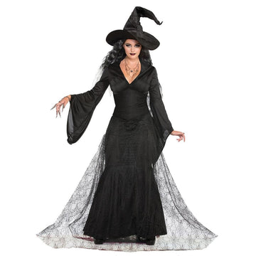 Black Mist Witch Adult Costume Xsmall-Small - adult halloween costumes female