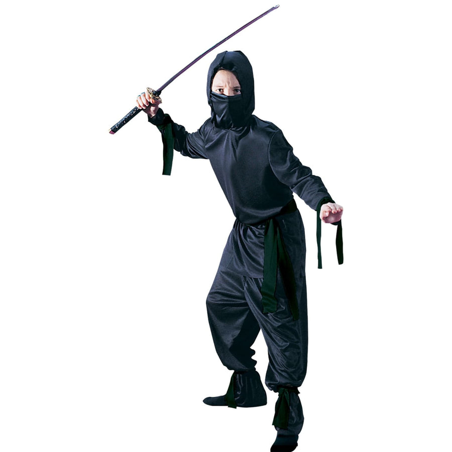 Black Ninja Boys Costume Md - Boys Costumes boys Halloween costume Halloween