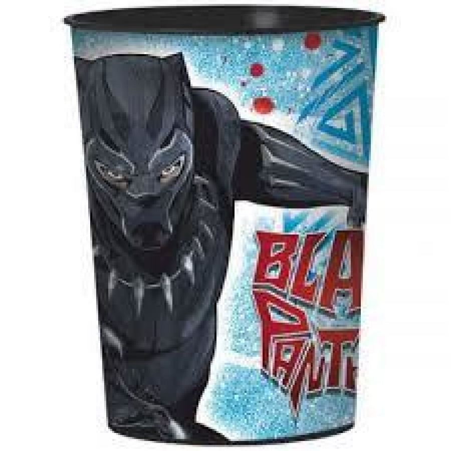 Black Panther 16 Oz Cup - Birthday Party Plates Birthday Party Supplies Black