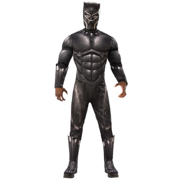 Black Panther Adult Costume Xl - adult halloween costumes Black Panther Costume