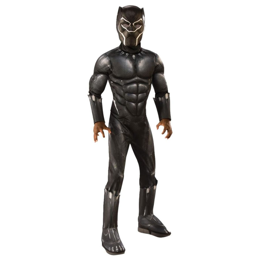 Black Panther Boys Costume Lg - Black Panther Costume Boys Costumes Halloween