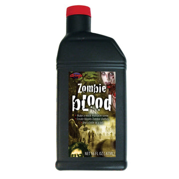 Blood Zombie Pint - Decorations & Props Ghoul Skeleton & Zombie Costume