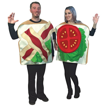 Blt Couples Costume - adult halloween costumes female Halloween costumes Food &