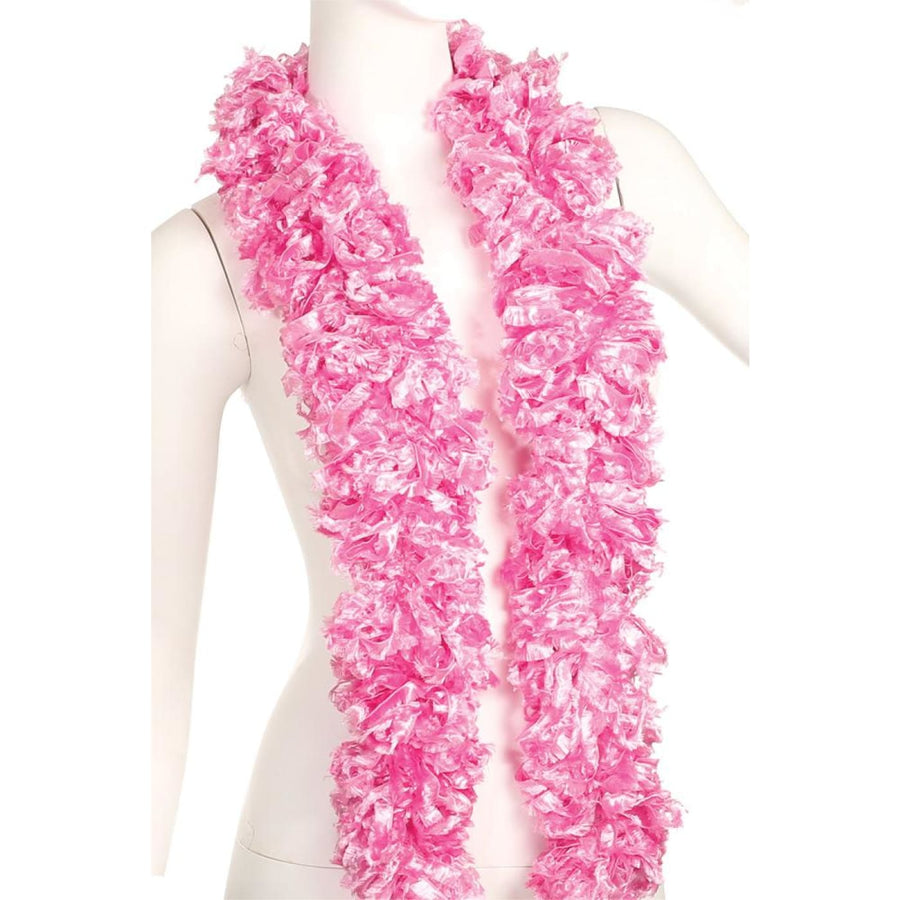 Boa Featherless Pink - 20s - 40s Costume Feather boa Gangster & Flapper Costume