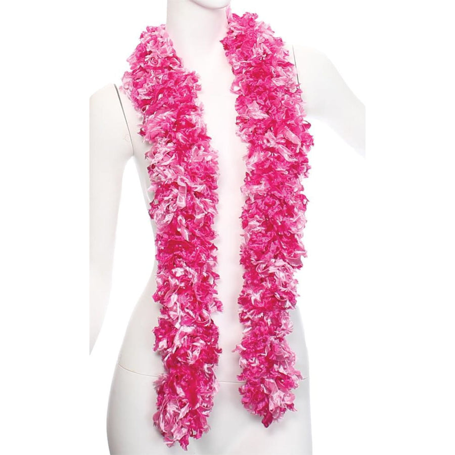 Boa Featherless Pink Mix - 20s - 40s Costume Feather boa Gangster & Flapper