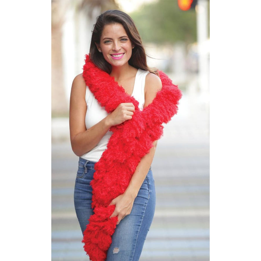 Boa Super Featherless Red - 20s - 40s Costume Feather boa Gangster & Flapper