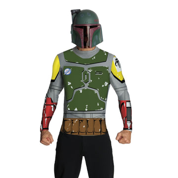 Boba Fett Adult Top Cape & Mask Md - adult halloween costumes halloween costumes