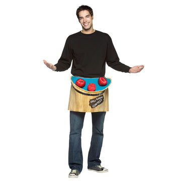 Bobbing For Apples Adult Costume - adult halloween costumes Funny Costume funny