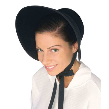 Bonnet Felt Black Hat - Halloween costumes Hats Tiaras & Headgear Historical