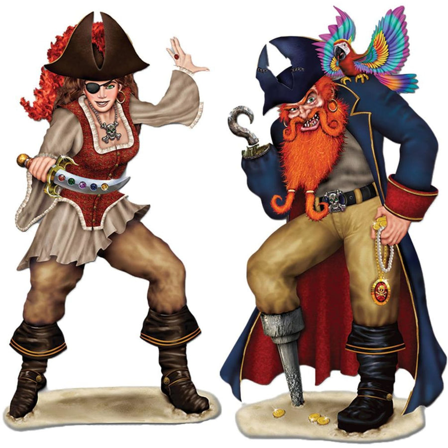 Bonny Blade And Calico Jack Props - Decorations & Props Halloween costumes