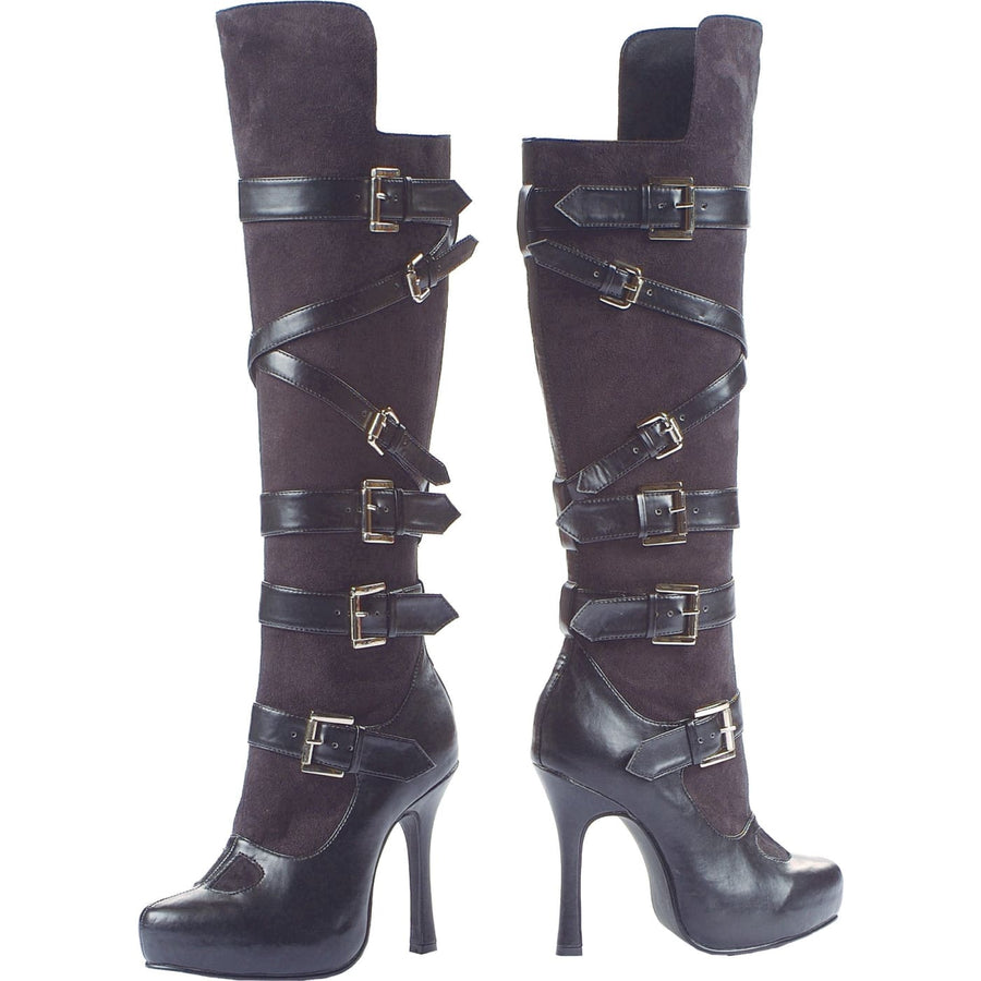 Boot Bandit Blk By Leg Ave Sz6 - Halloween costumes Shoes & Boots