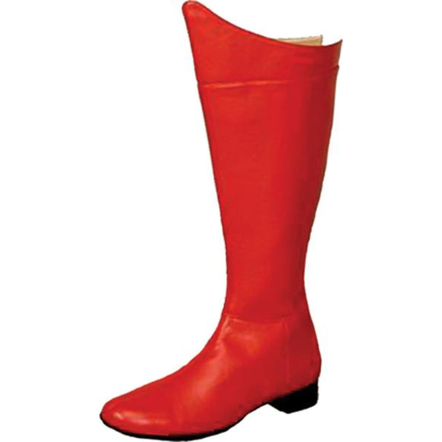 Boot Super Hero Red Men Small - Halloween costumes Marvel Comics Costume Shoes &