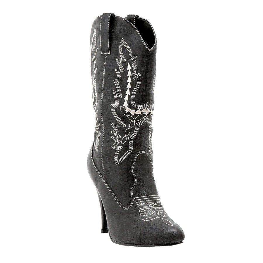 Boots Cowgirl Bk Sz 7 - Halloween costumes Shoes & Boots Wild West & Cowboy