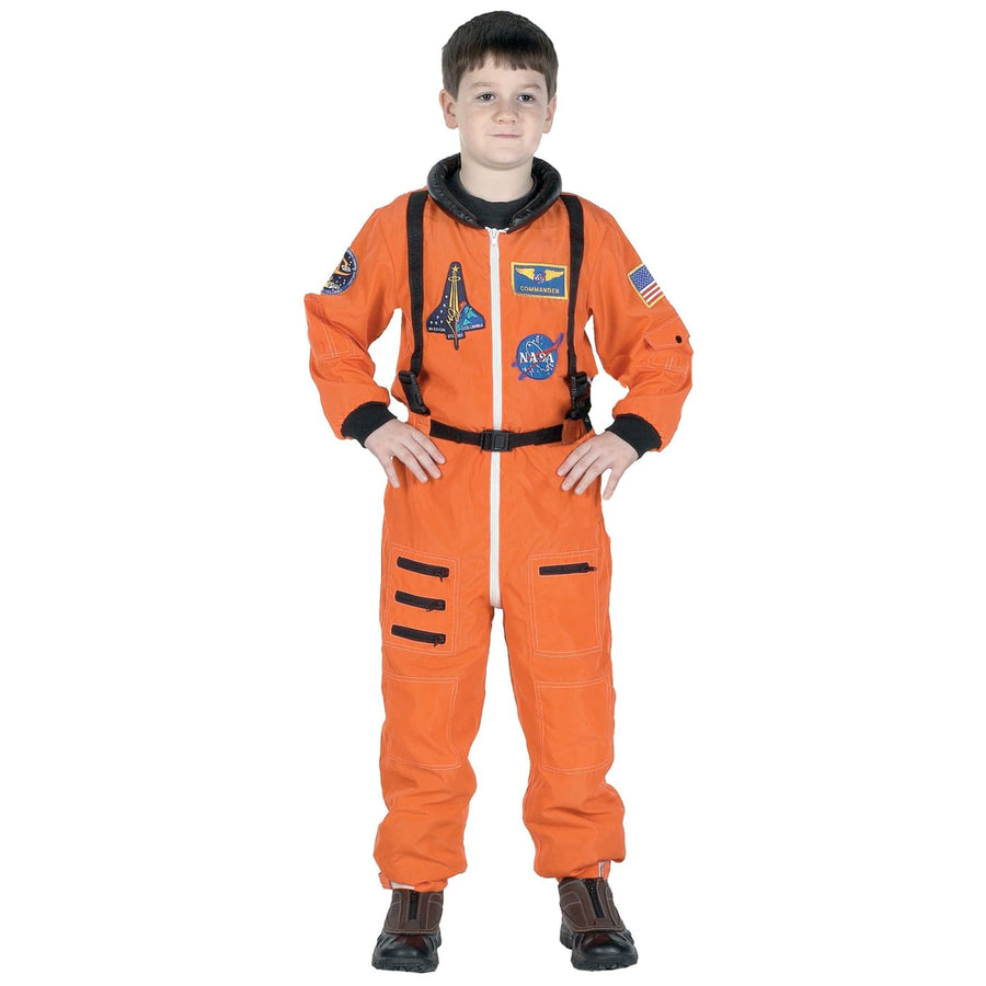 Boys Costume Astronaut Suit Orange Md - Boys Costumes boys Halloween costume