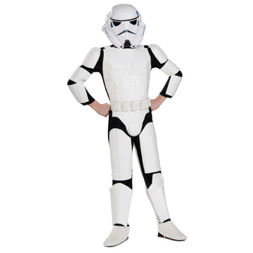 Boys Costume Deluxe Stormtrooper Lg - Boys Costumes boys Halloween costume Child