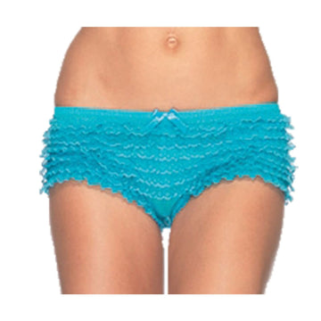 Briefs Ruffle Neon Blue - Halloween costumes Tights Socks & Underwear