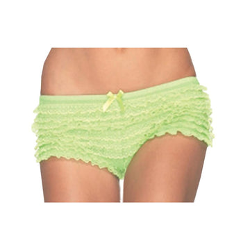 Briefs Ruffle Neon Green - Halloween costumes Tights Socks & Underwear
