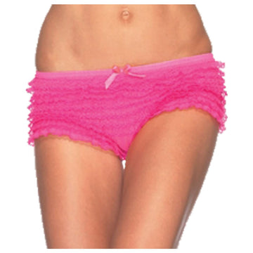 Briefs Ruffle Neon Pink - Halloween costumes Tights Socks & Underwear