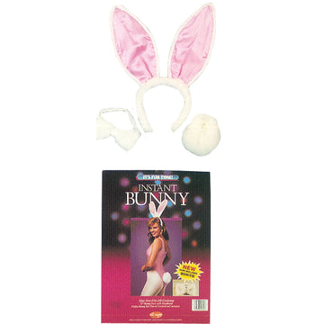 Bunny Instant Adult - Animal & Insect Costume Hats Tiaras & Headgear