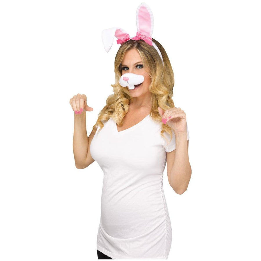 Bunny Selfie Accessory Kit - Bunny Selfie Accessory Kit Halloween costumes New
