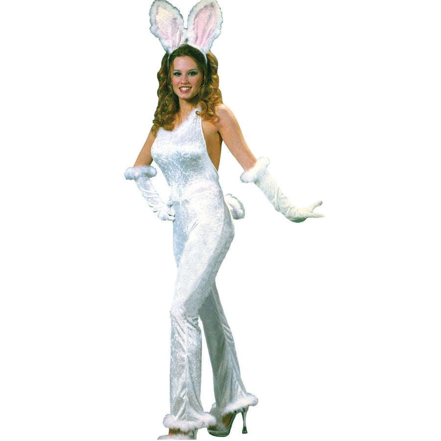 Bunny Sexy Velvet Sm-Md - adult halloween costumes Alice in Wonderland Costume
