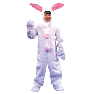 Bunny Suit Mascot Kids Costume 6-8 - Alice in Wonderland Costume Animal & Insect